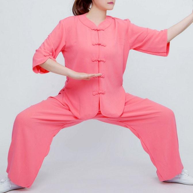 Tenue Tai Chi Kung Fu Femme été - ai ling