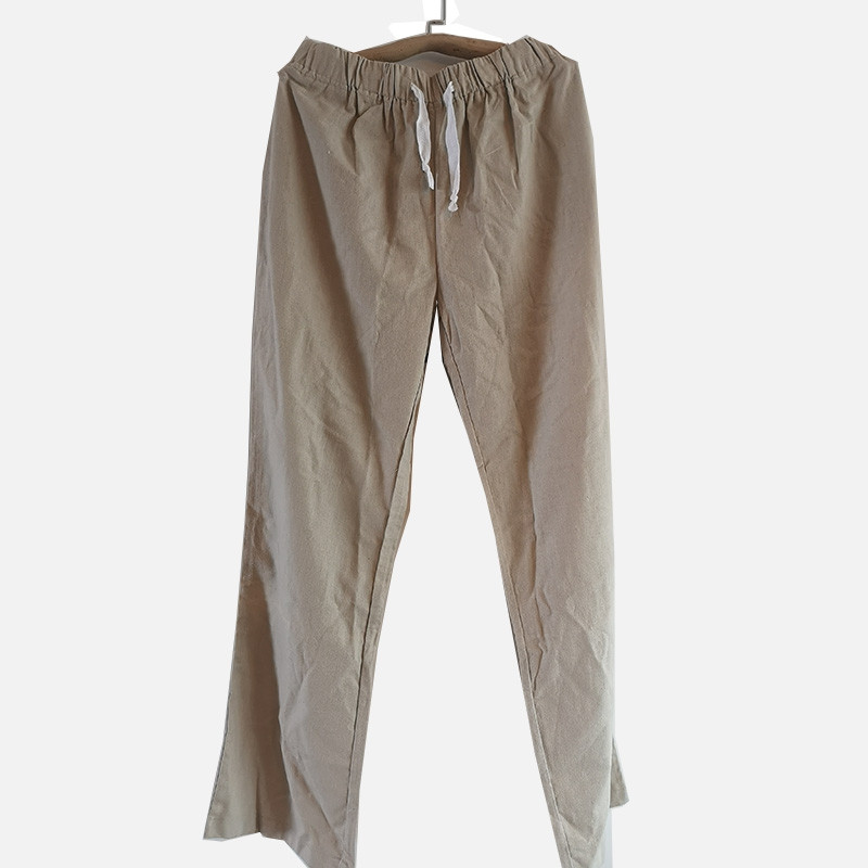 [DESTOCK] Pantalon de Tai Chi/Kung Fu en coton et lin XXXL 185 cm