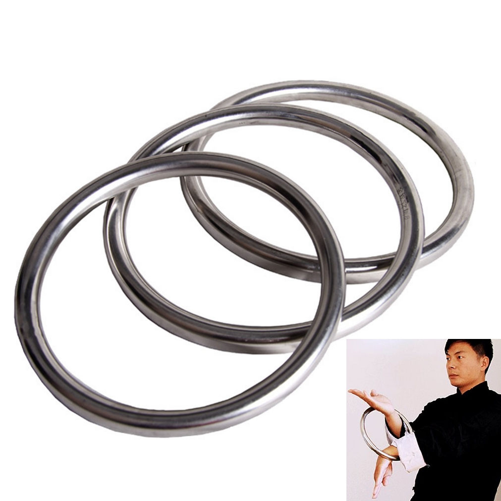 Anneau de Wing Chun (Chi Sao) en acier inoxydable