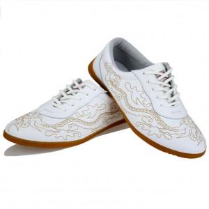 Chaussures de Tai Chi compétition broderie dragon