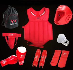Kit de protection Classique Sanda & Boxing, WESING
