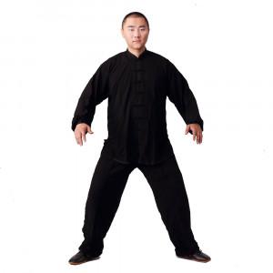 Tenue Classique Tai Chi Kung Fu coton léger, Enfant et Adulte