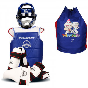 Equipement protection Taekwondo 6 éléments