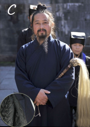Robe traditionnelle Wu Dang pour toutes saisons