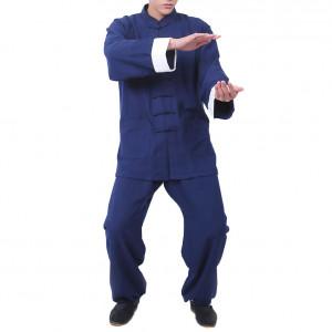 Tenue Wing Chun Kung Fu en lin avec doublure