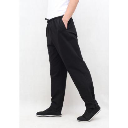 Pantalon en coton épais RU YI bas serré