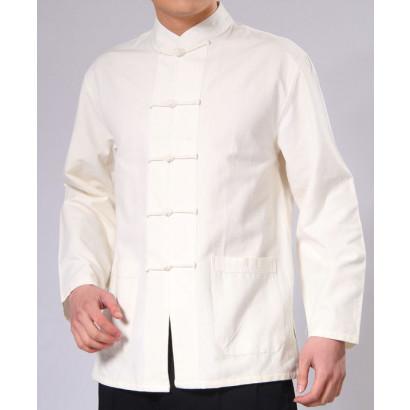 [SOLDES -10%] Veste Kung Fu en coton épais naturel