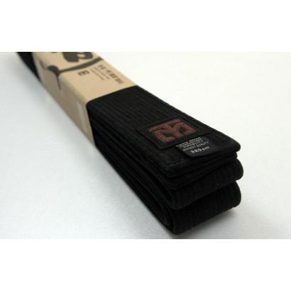 Ceinture de Taekwondo Brodée Noire Personnalisée, MOOTO