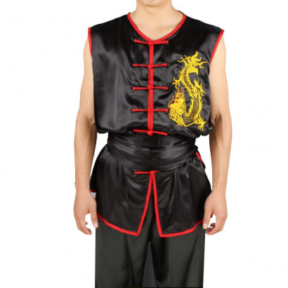 Tenue Nan Quan Dragon Brodé