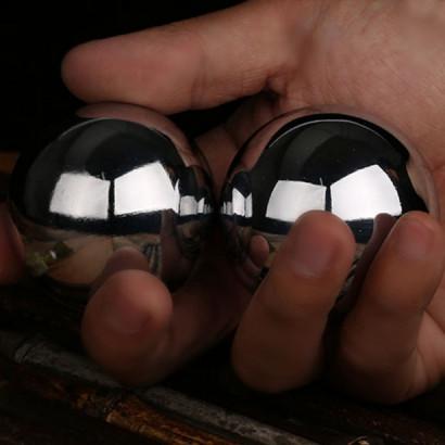 Boules de Qi Gong / santé haut de gamme en acier inoxydable #304