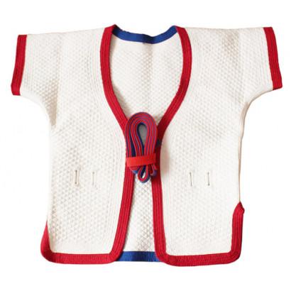 Veste reversible de Shuai Jiao épaisse en coton