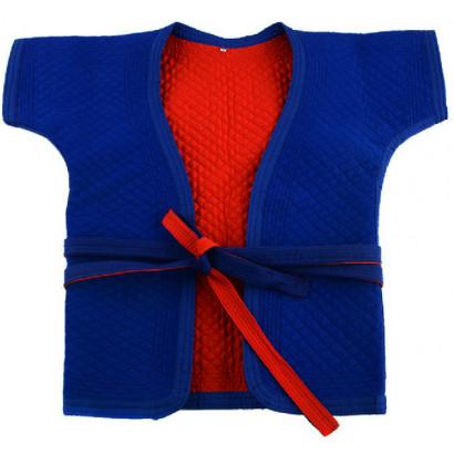 Veste réversible de Shuai Jiao, coton spandex, épaisse