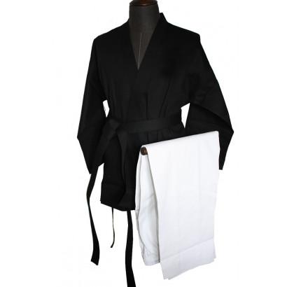 Kimono Kempo / Kenpo noir et blanc