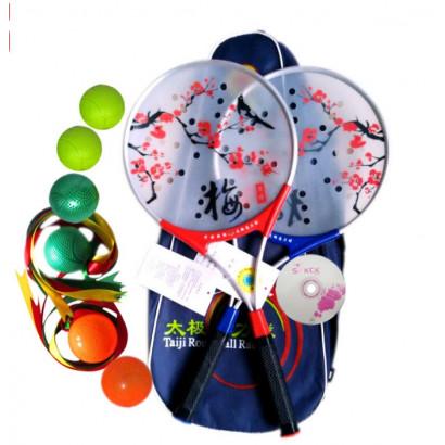 Raquette et balle de Tai Chi PRO Fleur de prunier, Tai Ji Rou Li Qiu MEI HUA