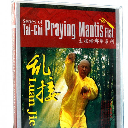 DVD Série de DVD de Tai-Chi Praying Mantis Fist - Luan Jie