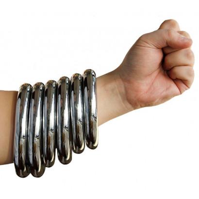 Bracelet métal Nan Quan, Hong Jia Quan, Tie Xian Quan, 3 tailles