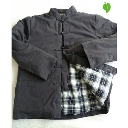 Veste traditionnelle personnalisée doublée ouatée 100% coton naturel - 12 couleurs