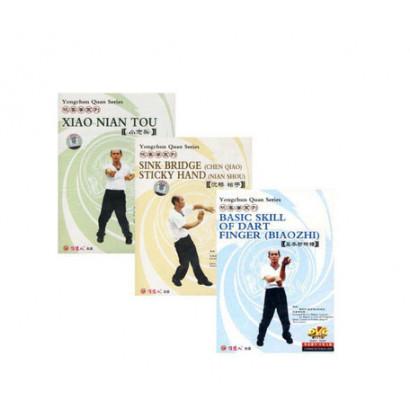 DVD - Série Wing Chun - Xiao Nian Tou / Biao Zhi / Chen Qiao&Nian Shou