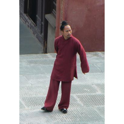 [Solde été -10%] Tenue Mur de Wu Dang en lin dense