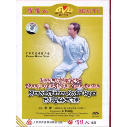 DVD Xingyi Quan Style Shang séries Styles mélanges