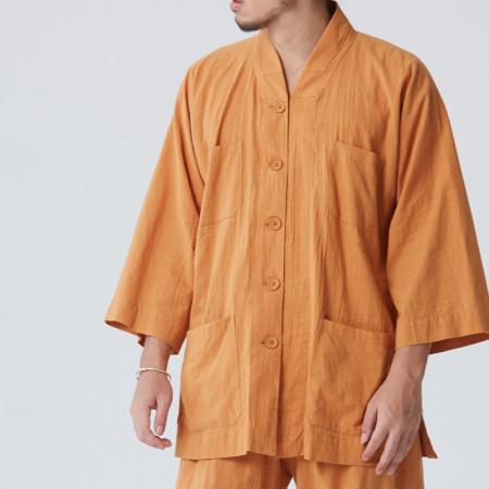 Tenue de moine Shaolin ou méditation en pure coton