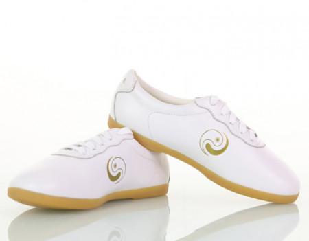 Chaussures de Tai Chi modèle avancé Yin Yang Doré