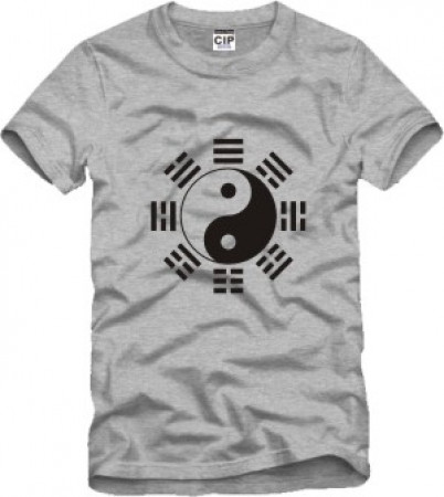 [BLACK FRIDAY -30%] T-Shirt Tai Chi Ba Gua Huit trigrams